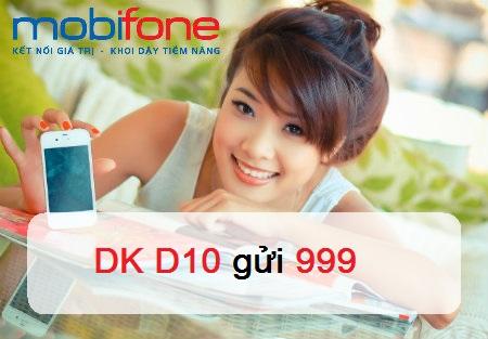 Gói cước D10 của Mobifone