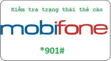 Hướng dẫn tra cứu trạng thái thẻ cào Mobifone