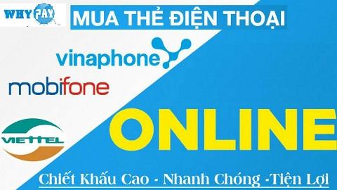 Đại lý thẻ điện thoại chiết khấu cao nhất Việt Nam