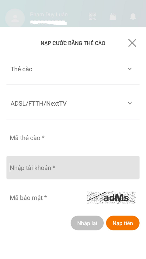 thanh toan internet fpt online - congkhoahoc.com
