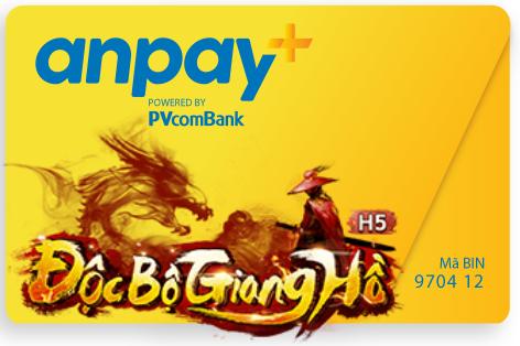 Nạp thẻ Anpay cho game Độc bộ giang hồ