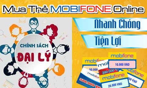Đại lý thẻ cào Mobifone