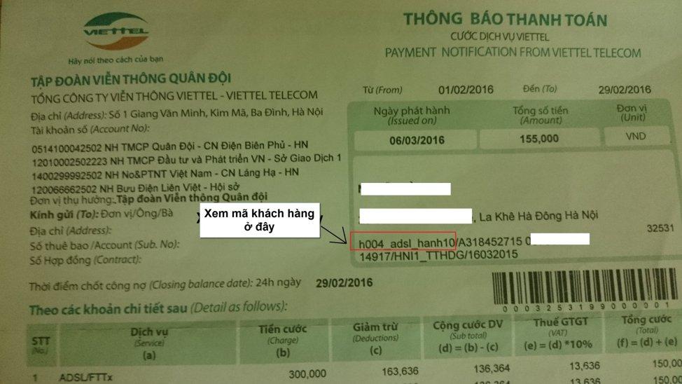 Cách thanh toán trực tuyến Viettel Payment nhanh chóng