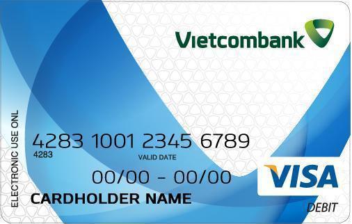 Hướng dẫn mở thẻ visa thanh toán quốc tế tại Vietcombank