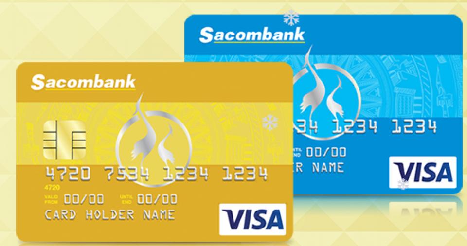 Hướng dẫn mở thẻ visa thanh toán quốc tế tại Sacombank