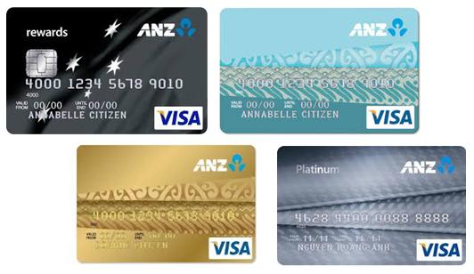 Hướng dẫn mở thẻ visa thanh toán quốc tế tại ANZ
