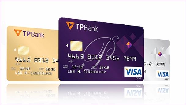 Hướng dẫn mở thẻ visa thanh toán quốc tế tại TPBank