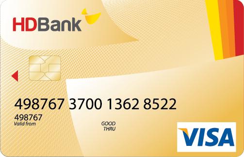 Hướng dẫn mở thẻ visa thanh toán quốc tế tại HDBank