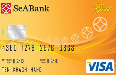 Hướng dẫn mở thẻ visa thanh toán quốc tế tại SeABank