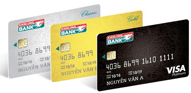 Hướng dẫn mở thẻ visa thanh toán quốc tế tại Kienlongbank