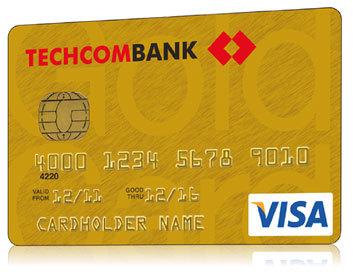 Hướng dẫn mở thẻ visa thanh toán quốc tế tại Techcombank