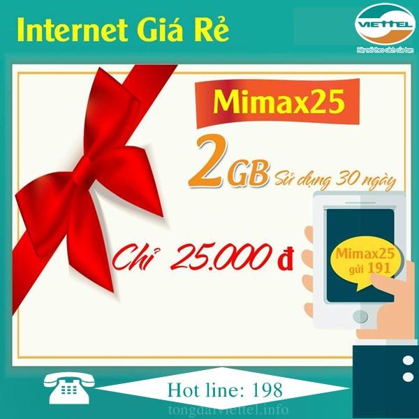 Hướng dẫn đăng ký gói 3G, 4G Viettel chỉ 25k tặng 2GB tốc độ cao